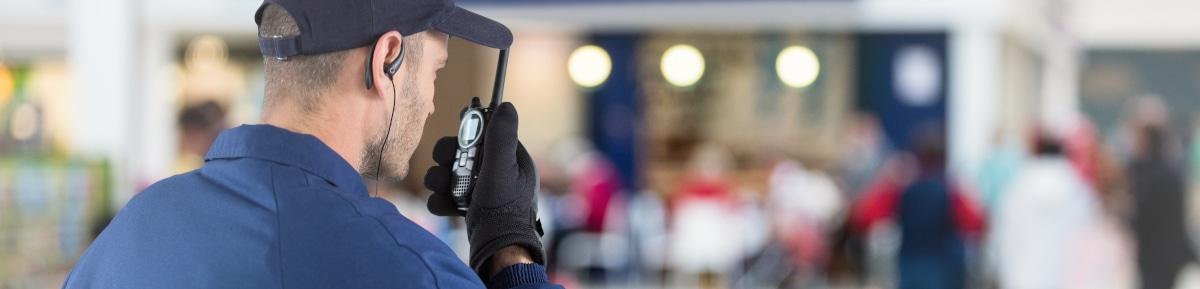 Surveillance et gardiennage en grandes surfaces